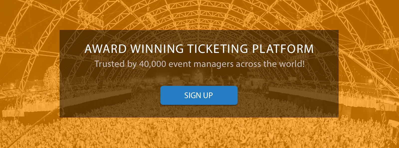 SBIEC Award Winning Event Ticketing Platform